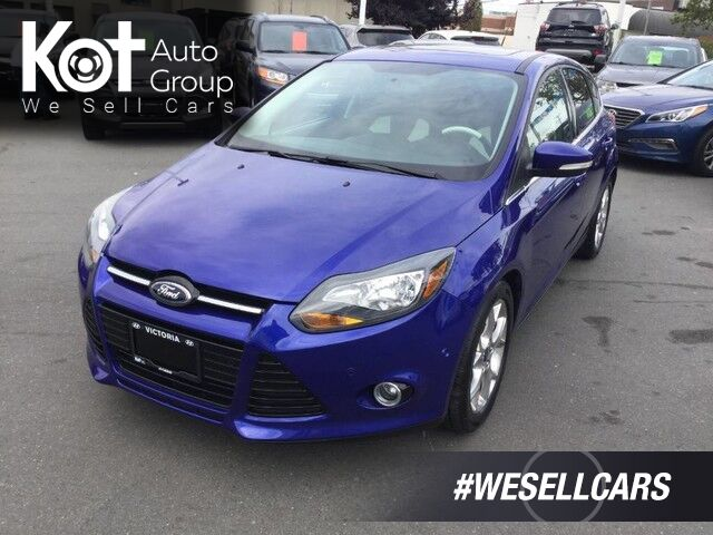 2013 Ford Focus Titanium One Owner! Keyless Entry, Push-Button Start Victoria BC