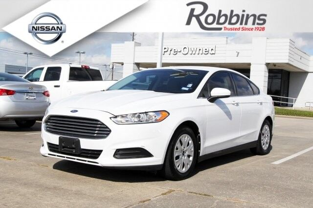 2013 Ford Fusion S Houston TX