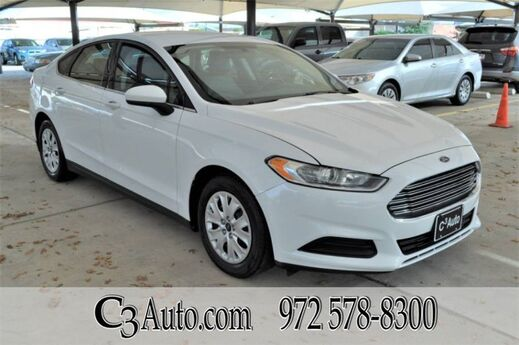 2013 Ford Fusion S Plano TX