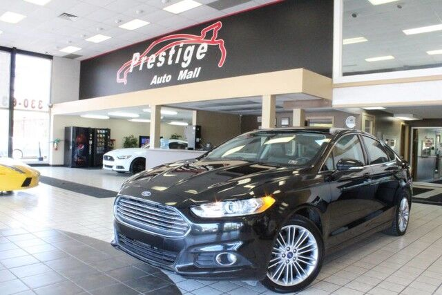 2013 Ford Fusion SE - Heated Seats, Rear Park Assist Cuyahoga Falls OH