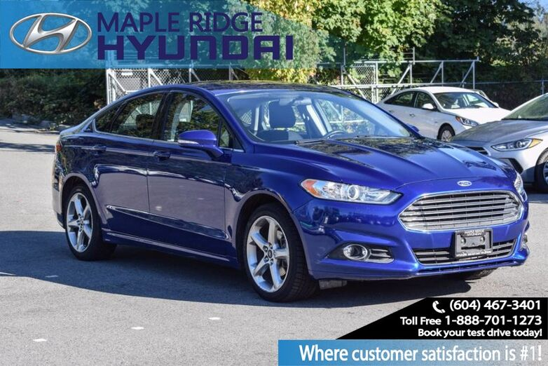 2013 Ford Fusion SE, Power Windows, Bluetooth, Low Kms Maple Ridge BC