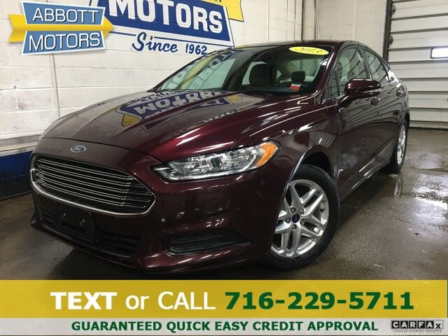 2013 Ford Fusion SE w/Tech pkg Buffalo NY