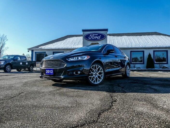 2013 Ford Fusion Titanium- AWD- LEATHER- NAVIGATION- LOADED Essex ON