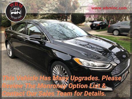 2013 Ford Fusion Titanium AWD Arlington VA