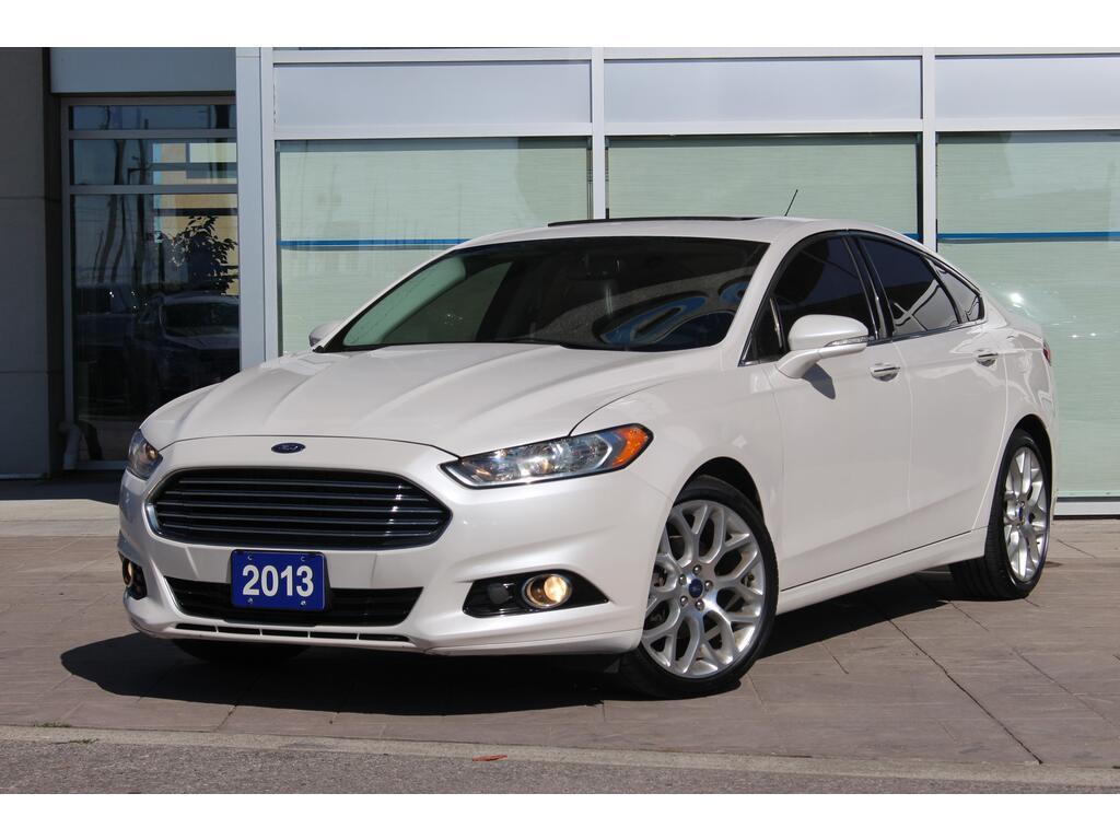 2013 Ford Fusion Titanium   LEATHER   NAVI   MOONROOF