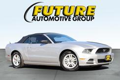 2013_Ford_MUSTANG_Convertible_ Roseville CA