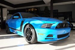 Ford Mustang Boss 302,RARE COLOR,COLLECTOR,IN THE PLASTIC! 2013