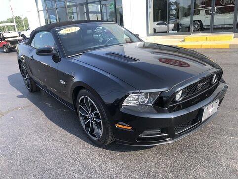 2013_Ford_Mustang_CONVERTIBLE GT PREMIUM_ Evansville IN