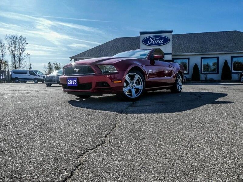 2013 Ford Mustang GT V8- CONVERTIBLE- LOADED- LEATHER- HEATED SEATS Essex ON