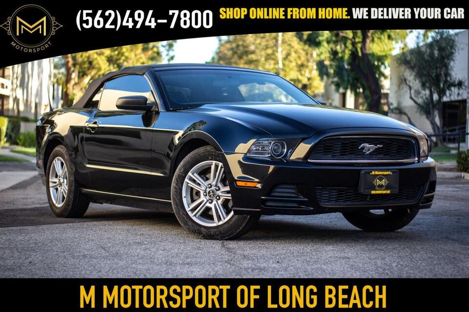 2013_Ford_Mustang_V6 Convertible 2D_ Long Beach CA