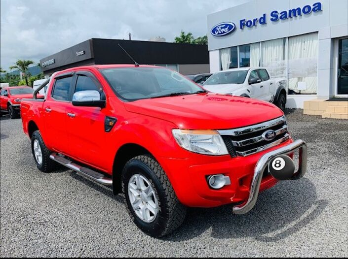2013 Ford RANGER XLT 3.2L TURBO DIESEL 4WD 6-SPEED AUTOMATIC TRANSMISSION DOUBLE CAB Vaitele