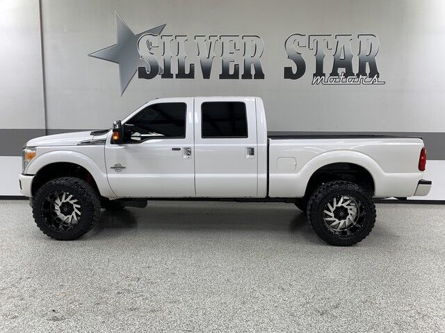 2013 Ford Super Duty F-250 SRW Platinum 4WD Powerstroke ProLift Dallas TX