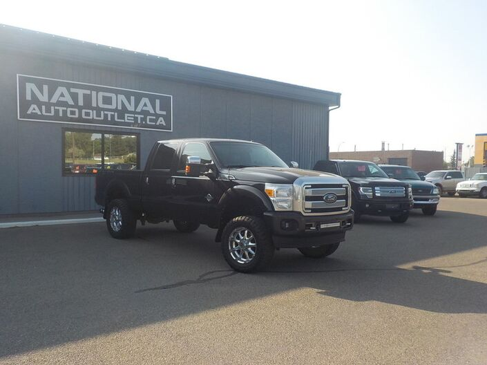 2013 Ford Super Duty F-350 SRW Platinum - NAVIGATION, HEATED LEATHER, COMMAND START Lethbridge AB