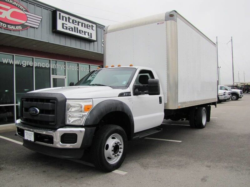 2013 Ford Super Duty F-550 V10 Box Truck Tommy Lift XL Collinsville OK