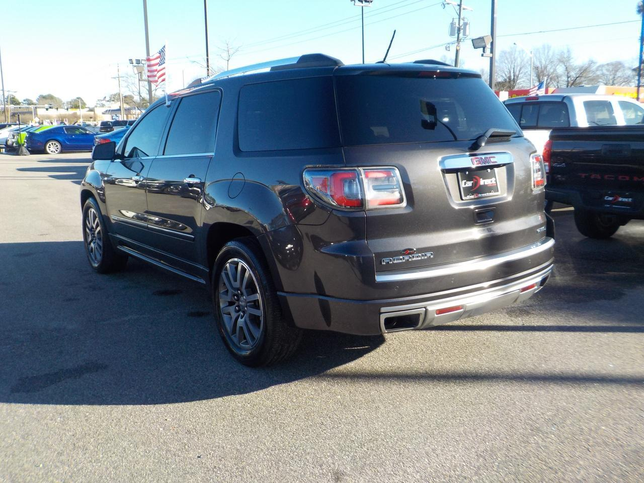 2013 GMC ACADIA DENALI AWD, LEATHER HEATED & COOLED SEATS, TOW PACKAGE, BOSE SOUND, REMOTE START, ONLY 91K MILES! Virginia Beach VA