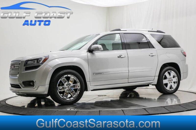 2013_GMC_ACADIA_DENALI LEATHER SUNROOF NAVIGATION WHEELS RUNS GREAT !!_ Sarasota FL