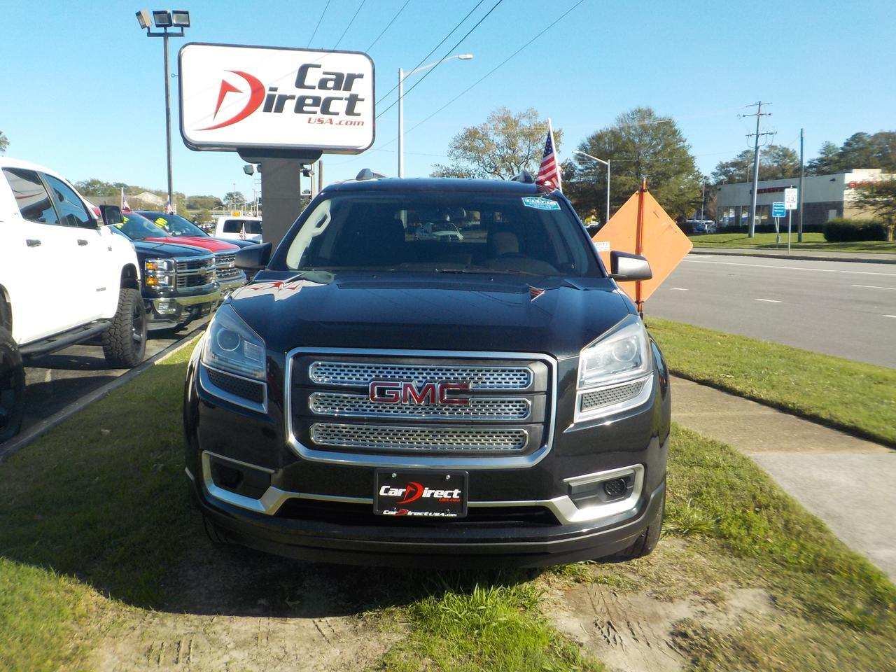 2013 GMC ACADIA SLE, BACKUP CAM, ROOF RACKS, PARKING SENSORS, 3RD ROW SEATING, LOW MILES! Virginia Beach VA