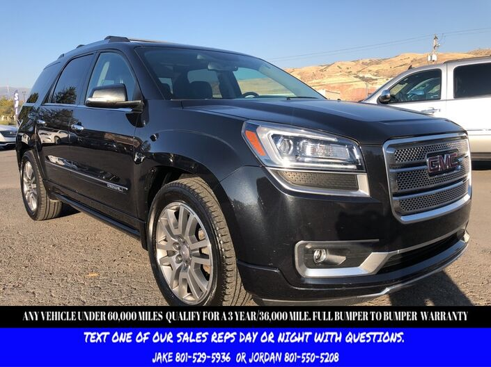 2013 GMC Acadia Denali Salt Lake City UT