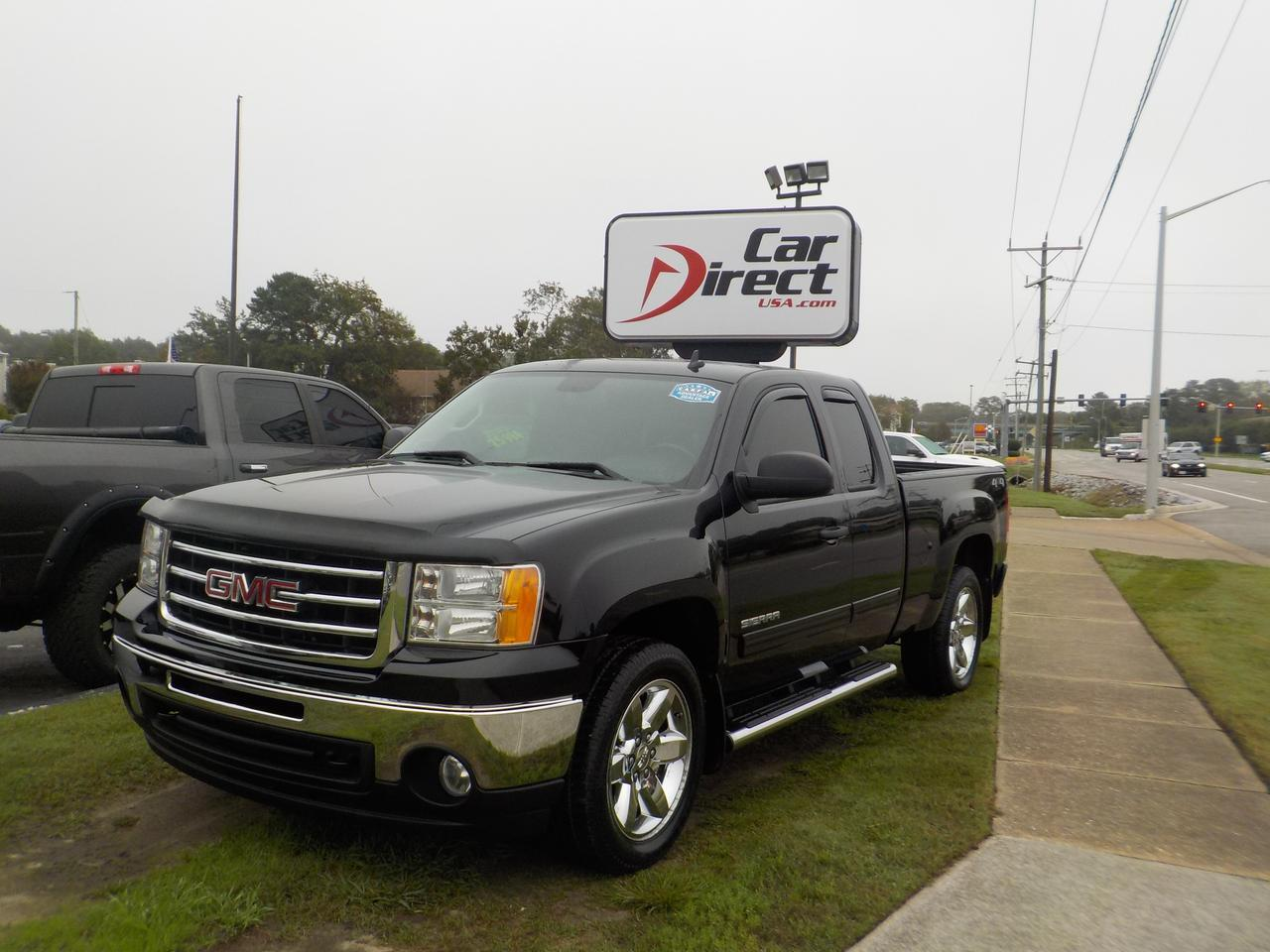 2013 GMC SIERRA 1500 EXTENDED CAB SLE 4X4, ONE OWNER, BLUETOOTH, REMOTE START, BACKUP CAM, TOW PACKAGE!