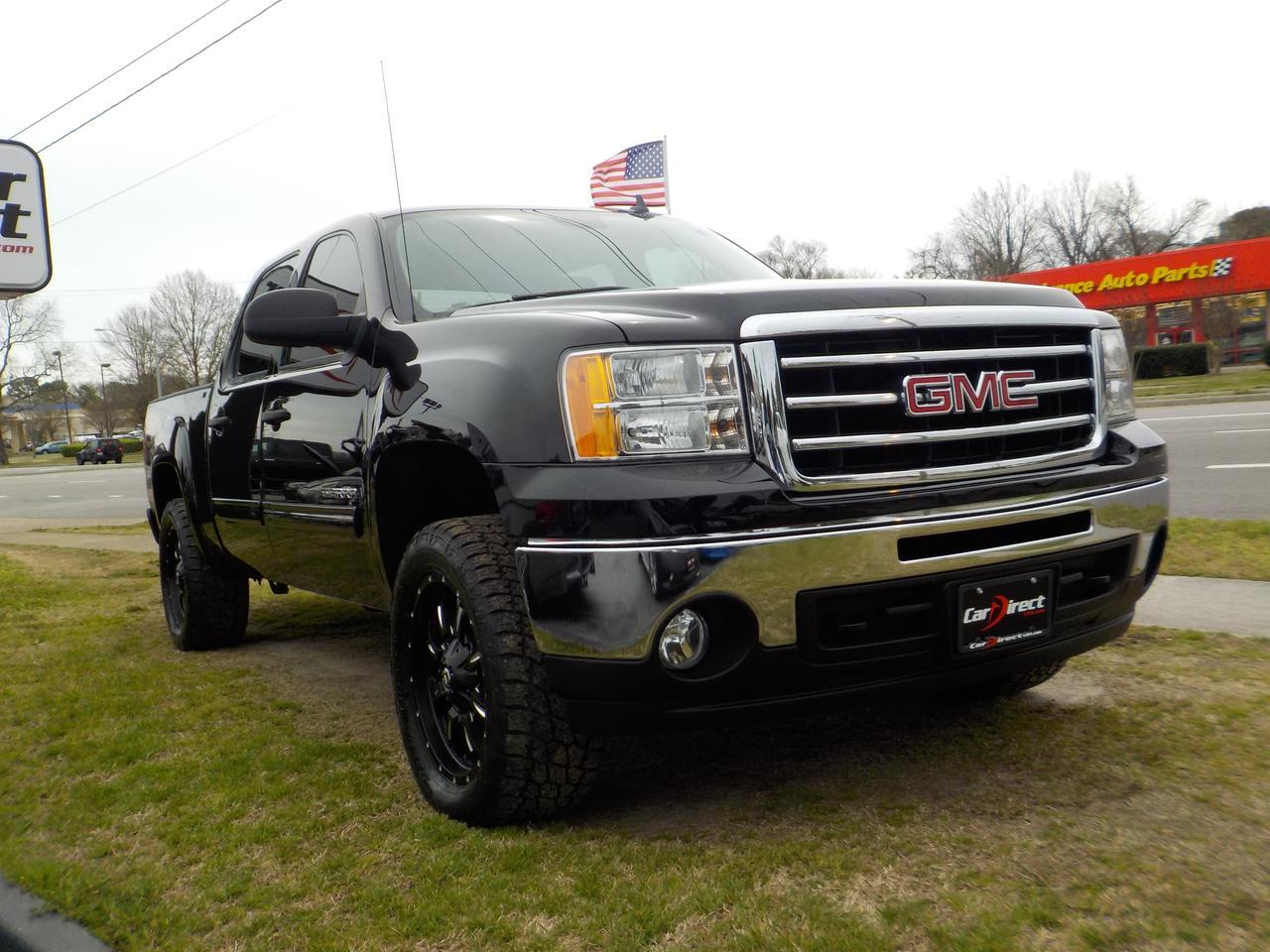 2013 GMC SIERRA SLE Z71 CREW CAB 4X4, WARRANTY, BACKUP CAMERA, PARKING SENSORS, REMOTE START, ONSTAR, FUEL RIMS, TOW Virginia Beach VA