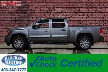 2013_GMC_Sierra 1500_AWD Crew Cab Denali Leather Roof Nav BCam_ Red Deer AB