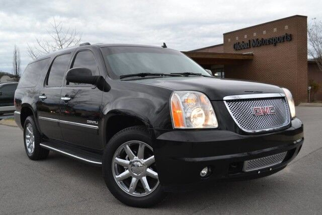 2013 GMC Yukon XL Denali/6.2L V8/Blind Spot Monitor/Heated&Cooled Seats/Navigation/Rear View Camera/Captain Second Row/Rear DVD/Power Liftgate/Remote Start/Very Clean! Nashville TN