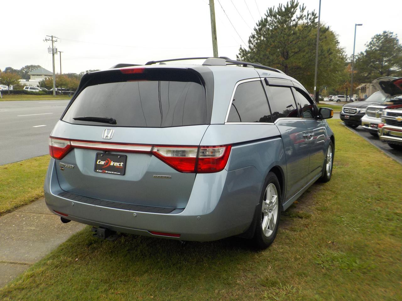 2013 HONDA ODYSSEY TOURING ELITE, WARRANTY, LEATHER HEATED SEATS, SUNROOF, NAVIGATION, DVD ENTERTAINMENT, ONE OWNER! Virginia Beach VA