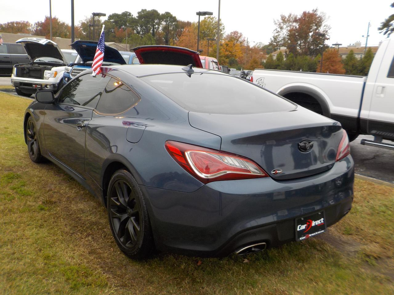 2013 HYUNDAI GENESIS 2.0T COUPE, WARRANTY, LEATHER, NAVIGATION, SUNROOF, BLUETOOTH, SAT RADIO, KEYLESS START! Virginia Beach VA