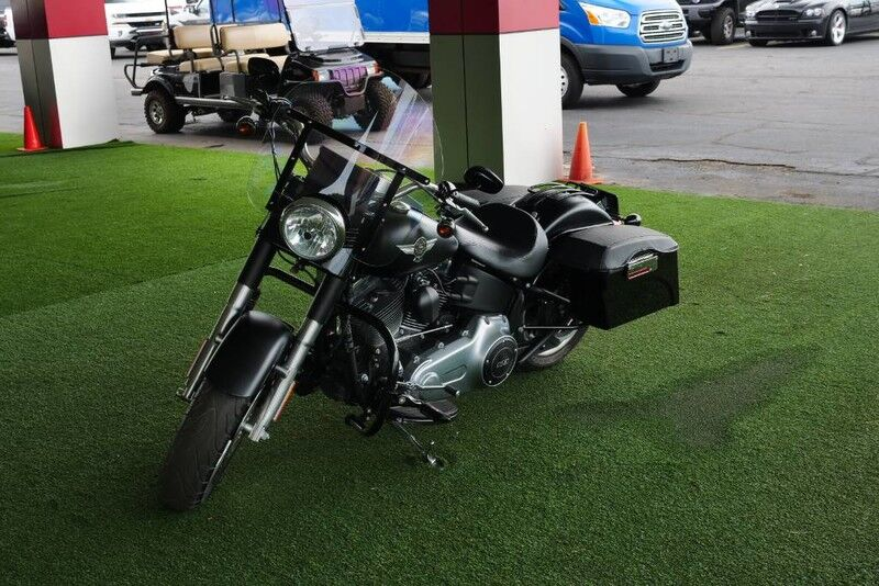 2013 Harley-Davidson FLSTFB Softail Fat Boy w/ Saddle Bags