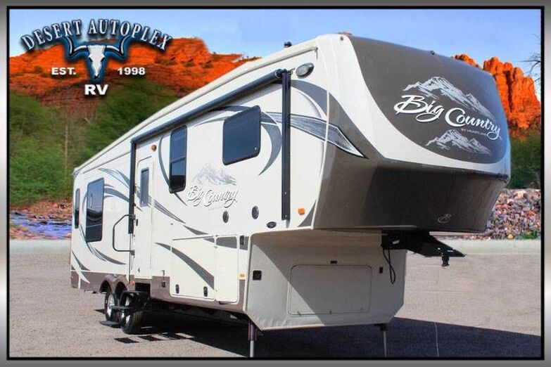 2013 Heartland Big Country 3250TS Triple Slide 5th Wheel RV Treated w/Cilajet Anti-Microbial Fog Mesa AZ