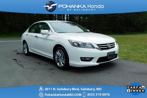 2013_Honda_Accord_EX-L ** LEATHER & SUNROOF ** ONE OWNER **_ Salisbury MD