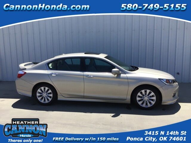 2013 Honda Accord Sdn EX-L Ponca City OK