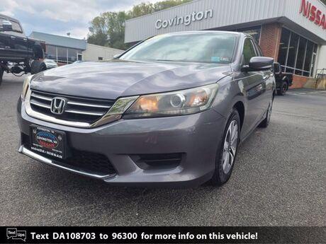 2013 Honda Accord Sdn LX Covington VA