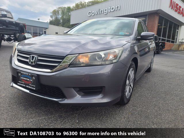 2013 Honda Accord Sdn LX Covington VA