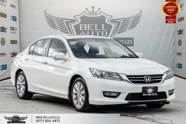 2013 Honda Accord Sedan EX-L, NO ACCIDENT, REAR CAM, SUNROOF, LEATHER, KEY-LESS ENTRY Toronto ON