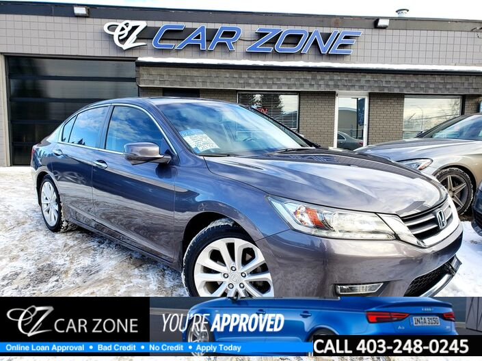 2013 Honda Accord Sedan Touring, NAVIGATION, LOW KMS Calgary AB