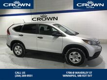 2013_Honda_CR-V_LX LOCAL ONE OWNER TRADE IN_ Winnipeg MB