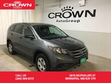 2013_Honda_CR-V_LX_ Winnipeg MB