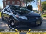 2013 Honda Civic Cpe LX-$37Wk-ECO-HeastdSeats-Alloys-AUX-Cruise-PowrWndws