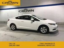 2013_Honda_Civic Cpe_LX Coupe ** Tinted Windows** Heated Seats** Bluetooth**_ Winnipeg MB