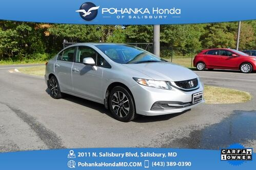 2013_Honda_Civic_EX ** SUNROOF & REAR VIEW CAMERA ** ONE OWNER **_ Salisbury MD