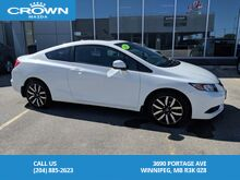 2013_Honda_Civic_EX-L Couple Automatic *Local Vehicle/Low Kilometre's/Remote Starter*_ Winnipeg MB