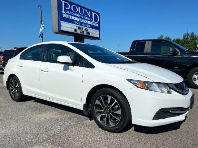2013 Honda Civic EX Sedan 5-Speed AT Gaston SC