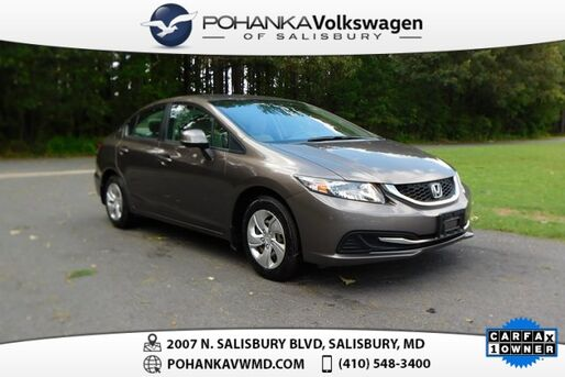 2013_Honda_Civic_LX ** ONE OWNER ** 39+ MPG **_ Salisbury MD