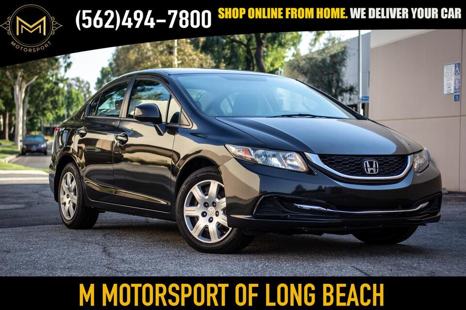 2013_Honda_Civic_LX Sedan 4D_ Long Beach CA