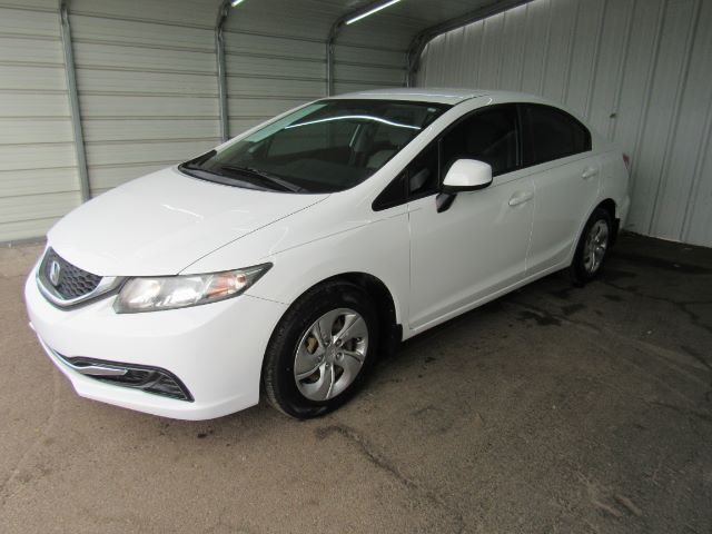 2013 Honda Civic LX Sedan 5-Speed AT Dallas TX