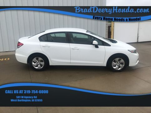 2013_Honda_Civic_LX_ West Burlington IA