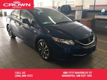 2013_Honda_Civic Sdn_Auto EX / Local / Good Condition / Unbeatable Value_ Winnipeg MB