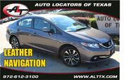 2013 Honda Civic Sdn EX-L with NAVIGATION