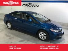 2013_Honda_Civic Sdn_LX/LEASE RETURN/ONE OWNER_ Winnipeg MB